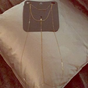 Express Body Chain gold-brand new!